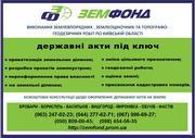 Землеустроительные услуги по Киевской области - Земфонд